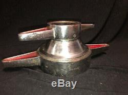 Vintage Akron Brass Swivel Adapter Fire Fighting 54-00356