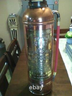 Vintage Antique Fire Extinguisher Hose! AWESOME! 3 HOSES! RED