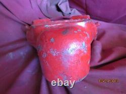Vintage Auto Spkr Brass fire engine department hose nozzle valve