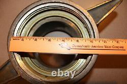 Vintage Brass 6 Fire Hose Coupler Female Adapter ELKHART BRASS Model 6 2059 4