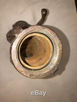 Vintage Brass Fire Hose Valve Splitter 3 To 2 Akron Brass 949