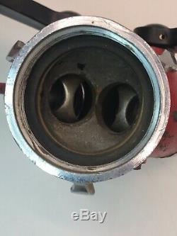 Vintage Elkhart Fire Hydrant Hose Splitter -(2)-1 1/2 Hoses