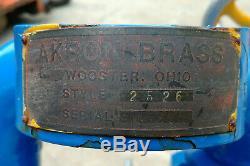 Vintage Fire Nozzle, Monitor, Deck Gun