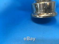 Vintage Rare chrome over brass lever handle Fire nozzles by Elkhart