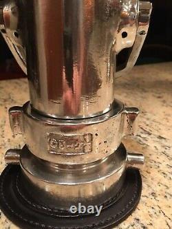 Vintage Santa Rosa C5 21/2 in. Aluminum lever handle Fire nozzle