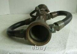 Vintage Wooster Brass Fire Fighting Nozzle