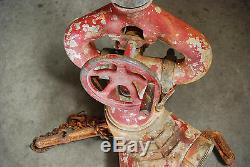25 Vintage Akron Hydrant Double Feu Splitter Valve Eau De Pont Des Armes À Feu Withnozzle Vhtf