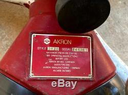 Akron Apollo 3420 Moniteur Cannon Avec Maître Turbojet Buse Lutte Contre L'incendie