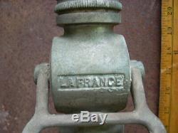 Antique 24 American Lafrance Tuyau D'incendie Buse Breveté Juillet, 15 1919