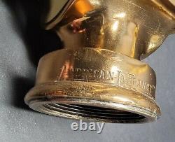 Antique American Lafrance Fire Engine Co Inc Buse Buse Brevetée 15-1919 Juillet