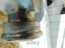 Antique American Lafrance & Foamite Corporation Incendie Nozzel 1919