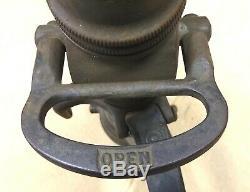 Antique Brass 1919 American Lafrance Et Foamite Corp. Camion Tuyau D'incendie Robinet D'eau