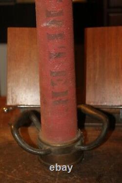Antique Brass Fireman Fire Hose Nozzle Monitor 30 Souscripteur