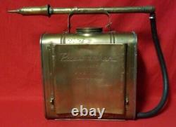 Antique The General Fire Truck Corp Pacemaker Knapsack Fire Pump Extinguiseur