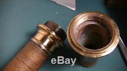 Brass 30 Inch Buse Tuyau Signé W. D. Allen Lot # 70