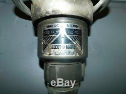Brass Elkhart Mfg Select-o-matic Sm-100 Tuyau D'incendie Buse