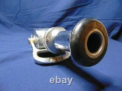 Buse De Tuyau D'incendie Vintage Powhatan 10 Open Close 2 Chrome Plated Brass