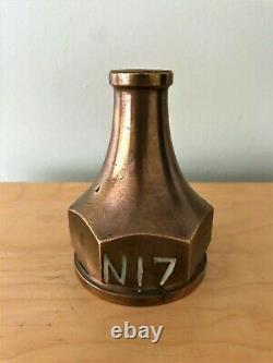 Collectable Rare Vintage Solid Brass Joblot Fire Hose Nozzle X 8 Dixon John Webb