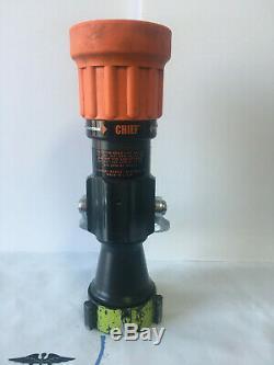 Elkhart Brass 4000-26 Tuyau D'incendie Buse, 2-1 / 2 Dans Orange