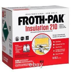 Froth-pak 210 Isolation À Faible Prg Classe A Évaluation De L'incendie, Applicateur, Tuyau Et Buses