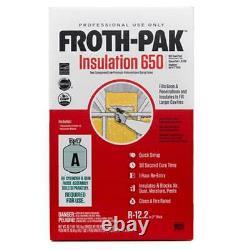 Froth-pak 650 Isolation À Faible Prg Classe A Évaluation De L'incendie, Applicateur, Tuyau Et Buses