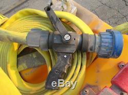 Hct F-500 Suppression D'incendie Portatif Panier Avec Tuyau D'incendie Et De La Buse, Used