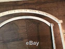 J. Antique C. N. Ny Guibert Fire Dept Porte-tuyau Avec Support De Montage Pompier 1884