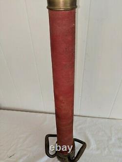 Laiton 31 Jouer Pipe Fire Buse Avec Windings Rouge Original Réel 31 1/2
