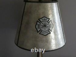 Lampe Industrielle De Pompier De Pompier De Buse De Tuyau D'incendie En Laiton