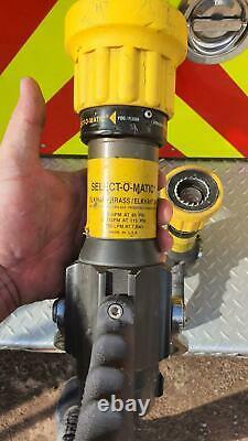 Lot De 3 Buses D'incendie En Laiton Elkhart Sm-20fg Select-o-matic