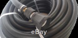 Lutte Contre L'incendie Flexible Brass Kit Reel Equipee Buse Noir 25 MM 1 X 36m Sécurité Uv