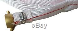 Lutte Contre L'incendie Toile Lay Flat Hose 25 MM 1 X 20 M Nylon Powerjet Buse Fitted