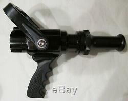 New Viper 1.5 Nh Fire Hose Nozzle 1-1 / 2 261 Gpm 100 Psi