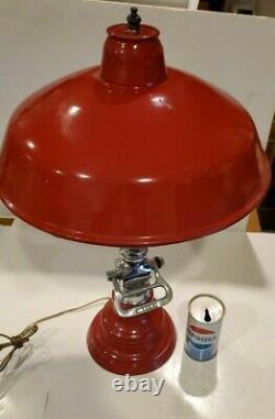 Nickel Brass Fire Hose Buse Pompier Pompier Lampe Industrielle Steampunk
