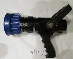 Nouvelle Viper Blue Devil Bd-9520 Buse Tuyau D'incendie 1-1/2 200 Gpm 11 138ft Reach