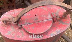 Old Heavy Fire Back Pack Tuyau Pulvérisateur Buse Forestry Suppression Tank Brass