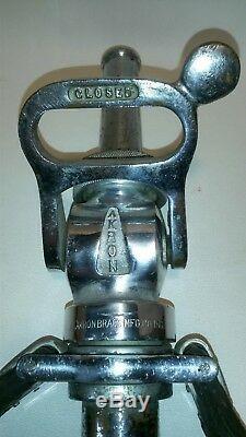 Rare Vintage 20 Akron Akr-o-ball Camion De Pompiers Tuyau Buse 1746608 2283986 F / Sh