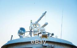Salvage Nautique, MD Le Maire J. Harold Grady Feu Bâteau Cannon Gun Déluge