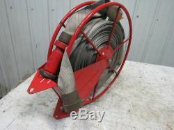 Swing Type De Tuyau D'incendie De Stockage Bobine With35' Tuyau Et Buse