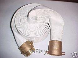 Tuyau D'incendie 1 X 100' Avec Accouplements Aluminium