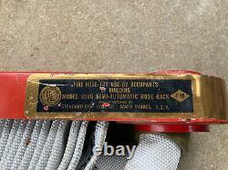 Tuyau D'incendie Standard Co. Tuyau/buse En Laiton/porte-épingles Complet Look Usé