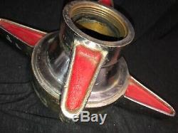 Vintage Akron Brass Adaptateur Swivel Lutte Contre L'incendie 54-00356