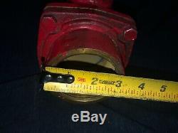 Vintage Akron Brass Ball Valve Lutte Contre L'incendie