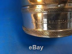 Vintage Brass Et Nickel 21/2 Dans. Levier Hd. Larkin Mfg. Co. Incendie Buse