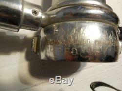 Vintage Brass Poignée Tuyau D'incendie Buse Double Elkhart Brass Mfg Co
