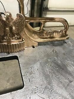 Vintage Elkhart Brass Feu De Contrôle