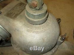 Vintage Feu Buse Grant Portable Au Sol Moniteur, Plate-forme Gun Cannon Aluminium