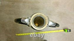 Vintage Fire Nozzle Akron Pdq Brass / Elkhart Two Handed
