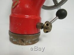 Vintage Imperial Brass Akron Authentique Lutte Contre L'incendie Eau Cannon 27