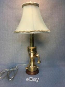 Vintage Morse, Arreter Buse De Feu Transformé En Lampe Sur Mesure